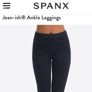 SPANX Jean-ish Legging Leapord